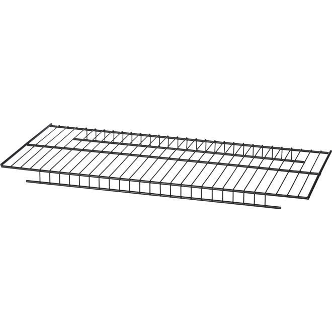 Tablette en grillage Craftsman VersaTrack, 23'' x 10'', gris