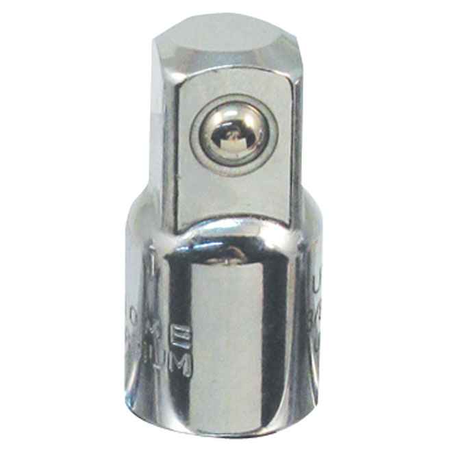 "Socket Adaptor - 3/8"" to 1/2"", Steel"