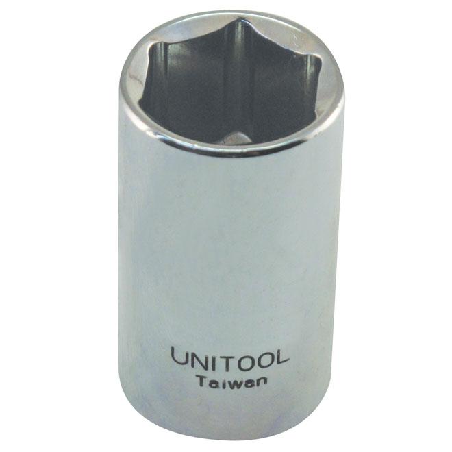 """Regular Socket - Steel - 1/2"""" x 7/8"""""""