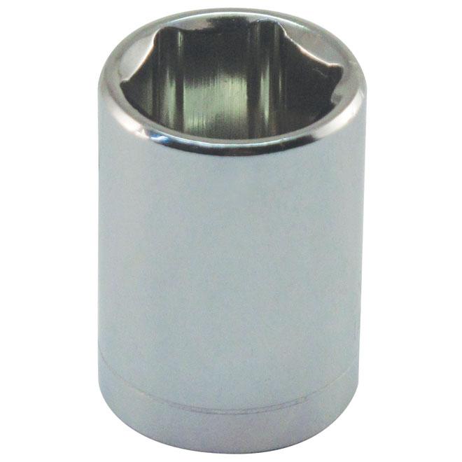 """Douille régulière, acier, 1/4"""" x 10 mm"""