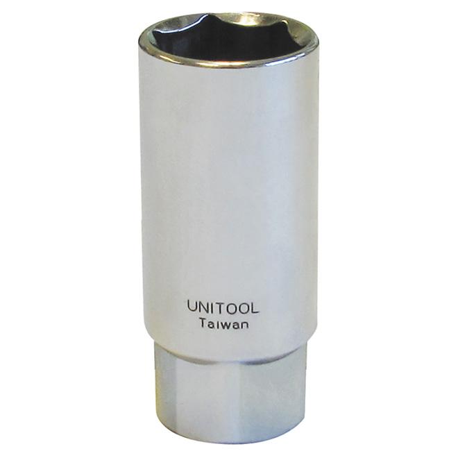 """Spark Plug Socket - Steel - 3/8"""" x 13/16"""""""