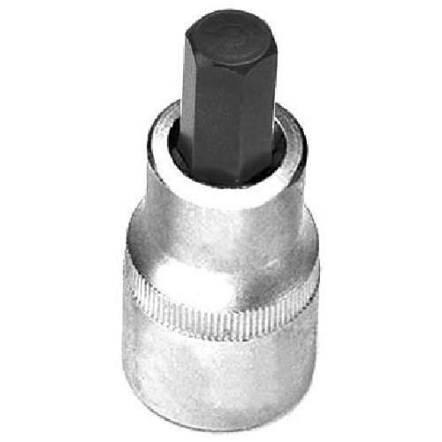 "Hexagonal Bit Socket - Steel - 3/8"" x 5 mm"