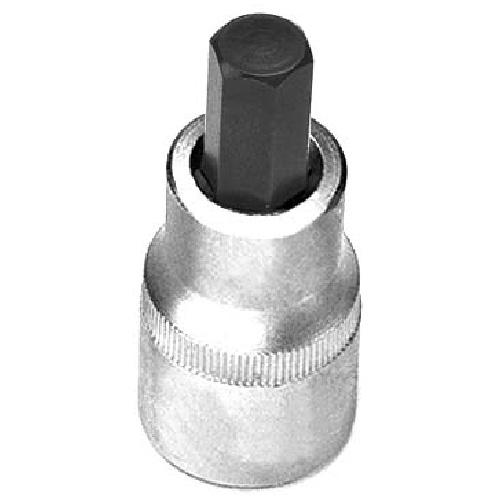 "Hexagonal Bit Socket - Steel - 3/8"" x 7 mm"