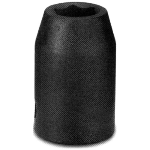 "Regular Impact Socket - Steel - 1/2"" x 9/16"""