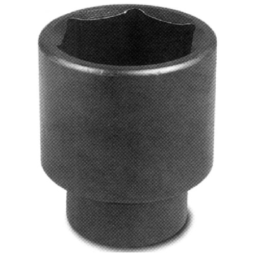 "Regular Impact Socket - Steel - 1/2"" x 1 3/8"""