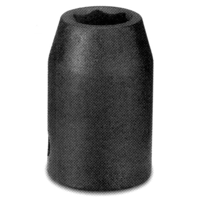 "Regular Impact Socket - Steel - 1/2"" x 9 mm"
