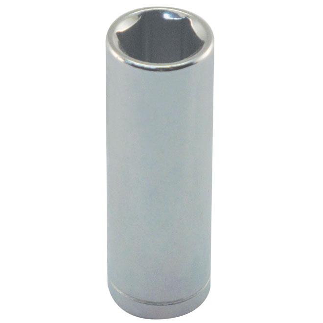 """Douille longue, acier, 1/4"""" x 8 mm"""