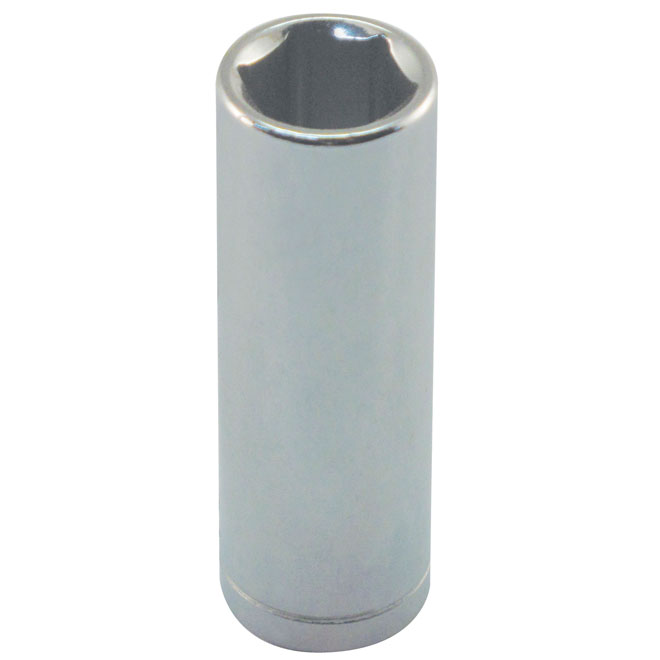 "Deep Socket - Steel - 1/4"" x 9 mm"