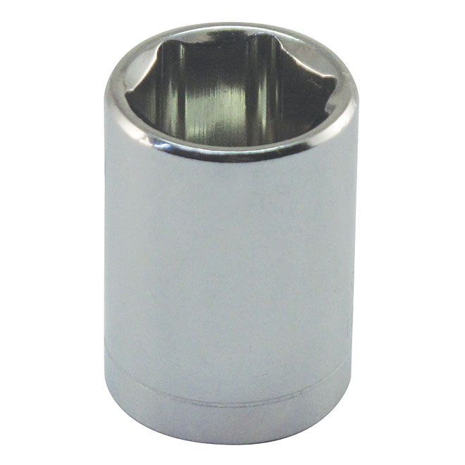 "Regular Socket - Steel - 1/4"" x 5 mm"