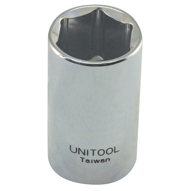 """Regular Socket - Steel - 1/2"""" x 18 mm"""