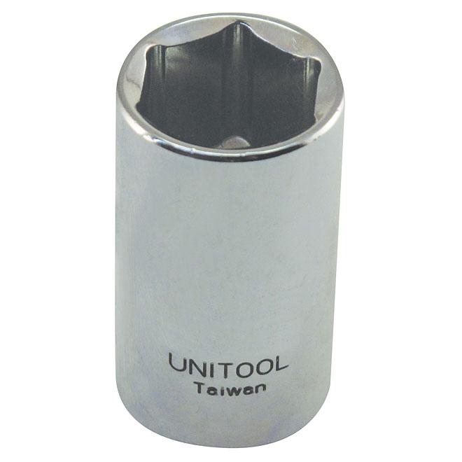"""Regular Socket - Steel - 1/2"""" x 19 mm"""