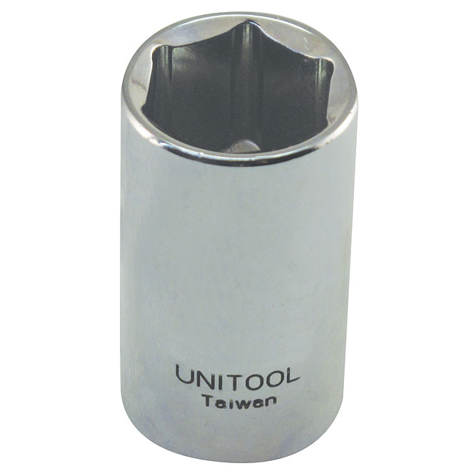 "Regular Socket - Steel - 1/2"" x 21 mm"