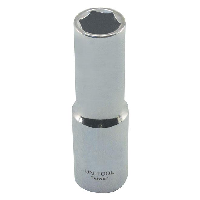 "Deep Socket - Steel - 1/2"" x 16 mm"
