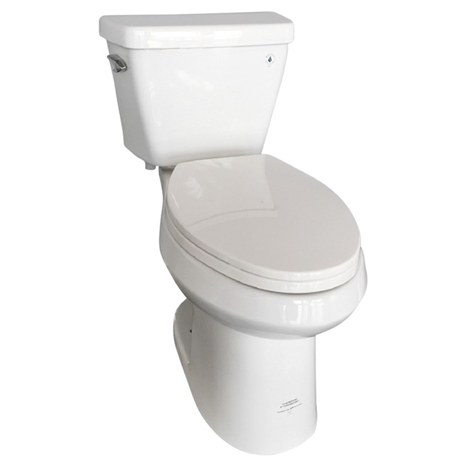 Cool Uberhaus Elongated Front High Efficiency Toilet Porcelain Gamerscity Chair Design For Home Gamerscityorg