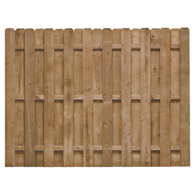 """Fence - 6 x 8' Pre-Assembled """"Shadow"""" Fence"""