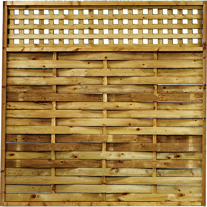 """Fence - 6 x 6' Pre-Assembled """"Urban"""" Fence"""