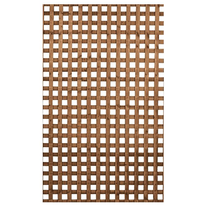 Lattice - Privacy Treated Wood Lattice - 4' x 8'