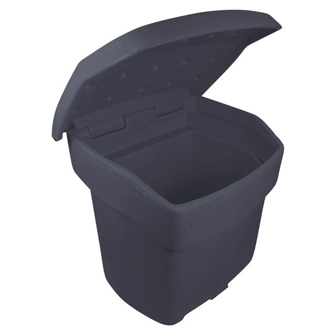 Bac de rangement extérieur, gris, 140 kg