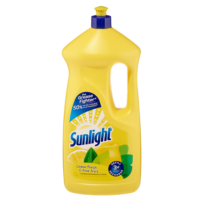 Dishwashing Soap - Liquid - Yellow - 1.5 L