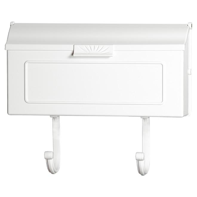 Boîte aux lettres Traditionnelle Pro-DF, à fixation murale, white, aluminium