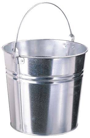 Pail - Standard - Galvanized Steel - 15 L