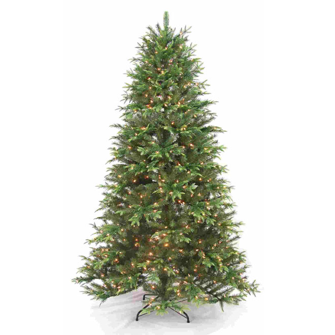 UBERHAUS Pre-Lit Christmas Tree - 500 Lights - 2695 Tips - 7 ...