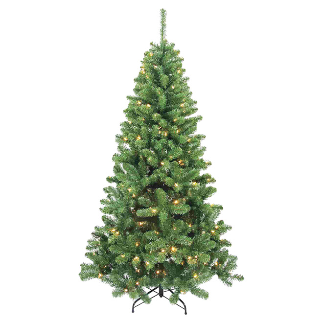 UBERHAUS Pre-Lit Berwyn Christmas Tree - 300 LED - 860 Tips - 7 ...