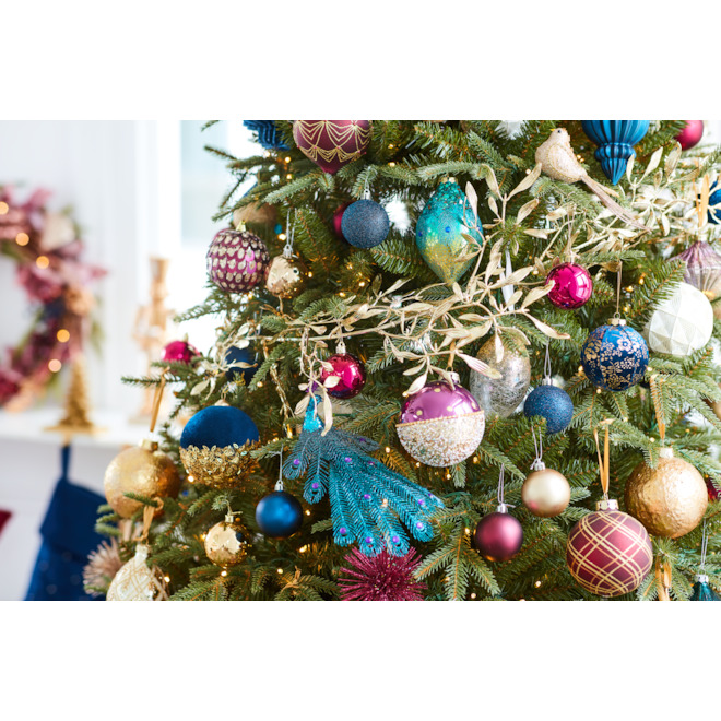 Holiday Living 4-Pack Gold Bird Clips Ornaments