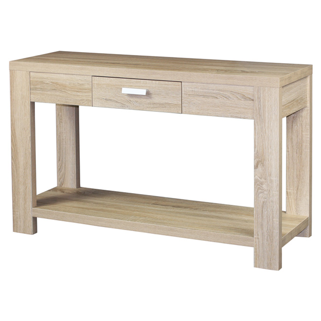 Console Table - Clear Oak