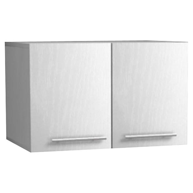 """Uberhaus 2-Door Wall Cabinet - 23.6"""" x 15"""" x 15"""" - White"""