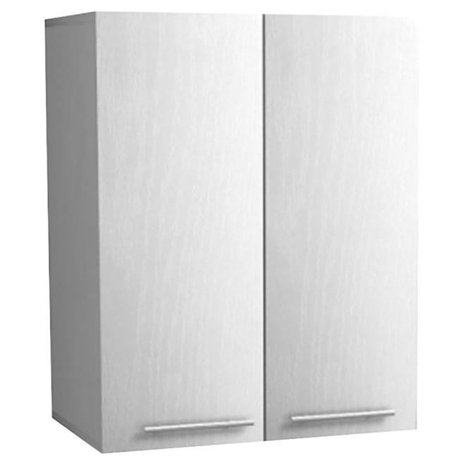 """Uberhaus 2-Door Wall Cabinet - 23,6"""" x 30"""" x 15"""" - White"""