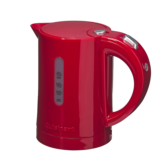QuickKettle Electric Kettle - 700W - 0.5Litre - Red