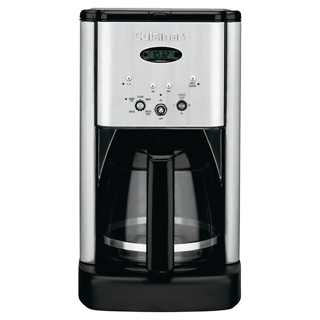 Coffee Maker -  Brew Centra - 12 Cup - Stainless Steel