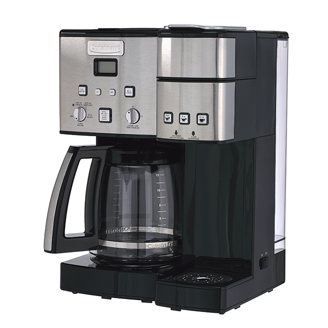 4a9f9d24af7 CUISINART Coffee Center(TM) 2-in-1 Coffeemaker - 1 to 12 Cups SS-15C ...