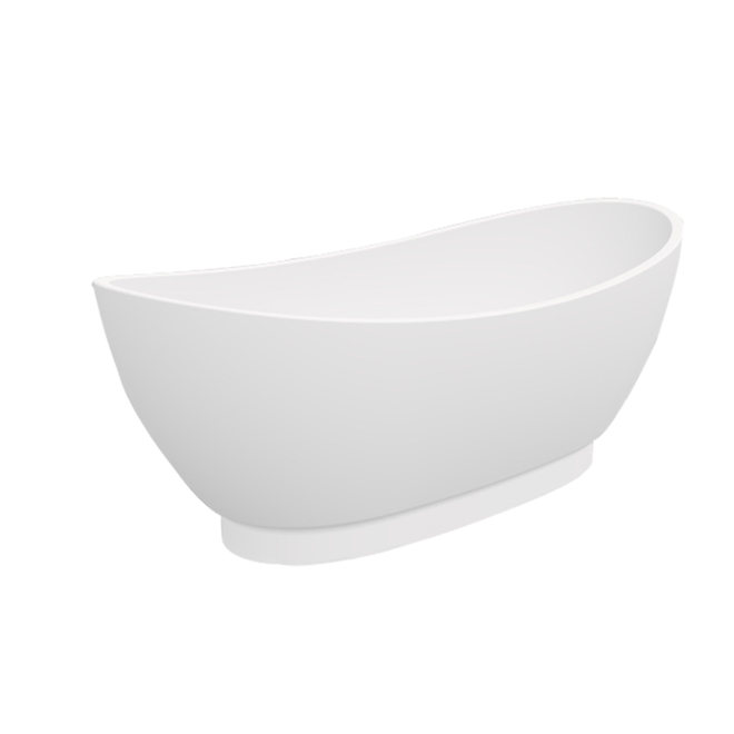 Freestanding Bathtub - Oval - White