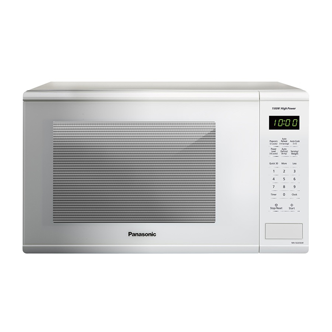 Counter Top Microwave Oven, 1.3 cu. ft. - White - 1,100 W