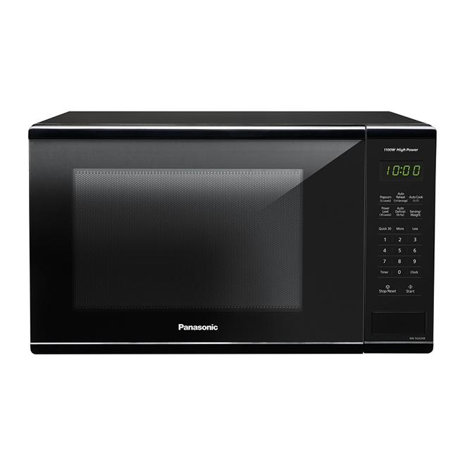 Panasonic Countertop Microwave Oven - 1.3-cu ft - 1100 W - Black