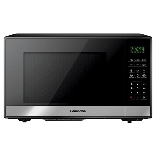 Microwave Oven - 0.9 cu. ft. - 900 W - Black Stainless Steel