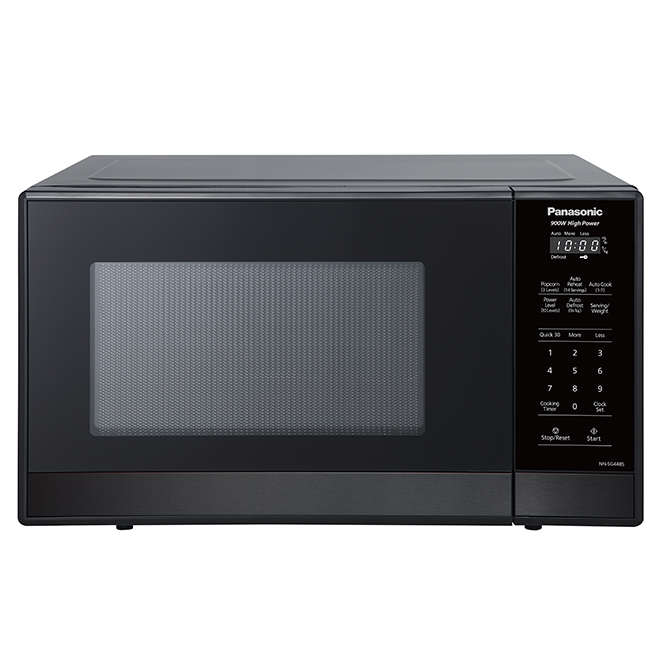 Countertop Microwave Oven - 0.9 cu.ft.- Black Stainless