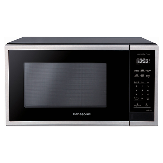 Panasonic Compact Microwave Oven - 1.1-cu ft - 1000 W - Stainless Steel