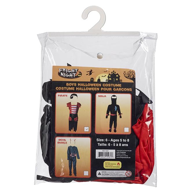 Costume d'Halloween pour enfant, 3 modèles, taille 6