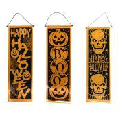 Assorted Halloween Banners - 10