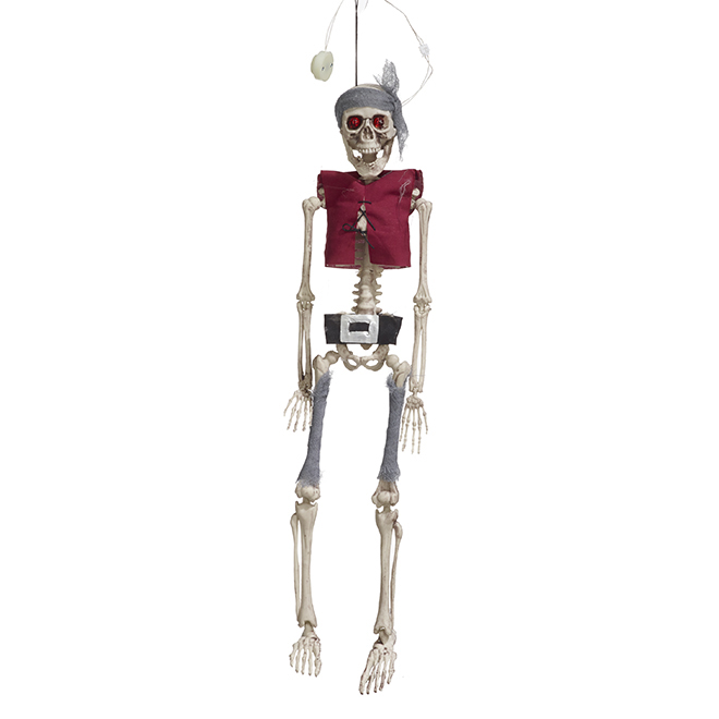 LED Lighted Pirate Skeleton - 20''