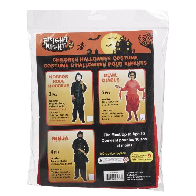 Costume d'Halloween pour enfant, 3 modèles