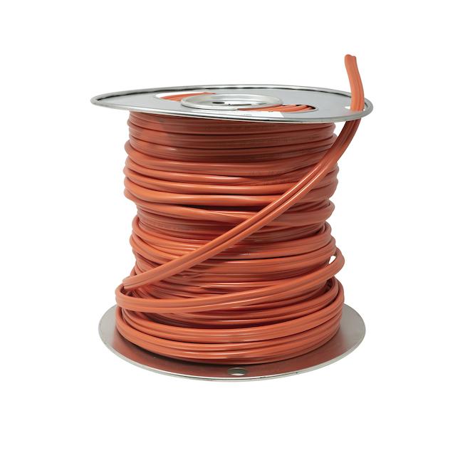Fil électrique NMD90 de Southwire, 75 m, 10 AWG, orange