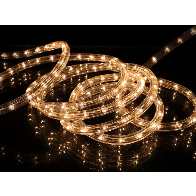 Holiday Living 108-Light LED Rope Light - 18-ft - Warm White