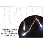 Holiday Living Icicle Light Set - 240 LED Lights - Pure White