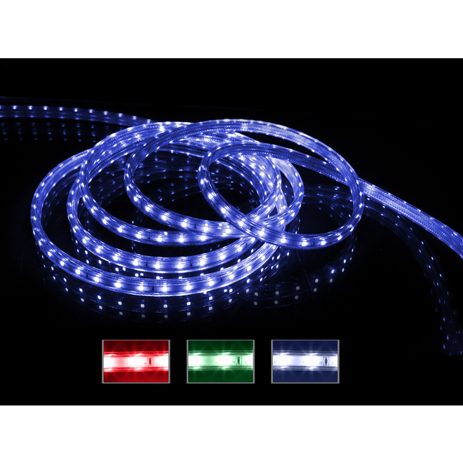 Holiday Living Light Strip with 100 LED Lights - 16.4-ft - Multicolour
