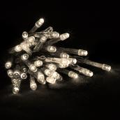 Jeu de lumière intérieur et extérieur à piles Holiday Living, 100 DEL 5 mm, blanc chaud