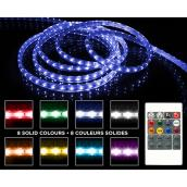 Danson Decor LED Tape Light with Remote Control - 16.4-ft - 150 Lights - Various Colours